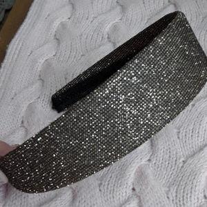 Bronze Metallic Mesh Headband